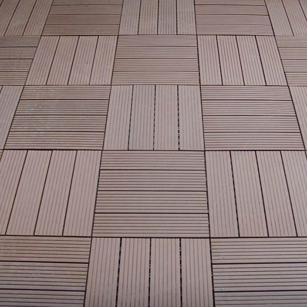 Composite Plastic Deck Tiles