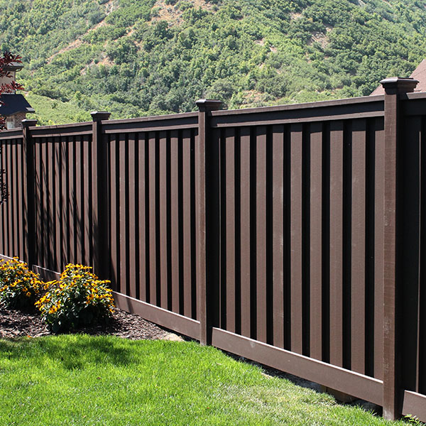 Composite Plastic Fencing and Landscaping products