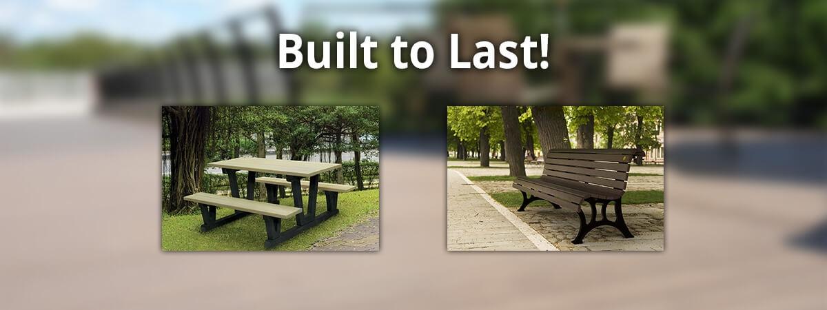 Plastic Lumber is Built to Last