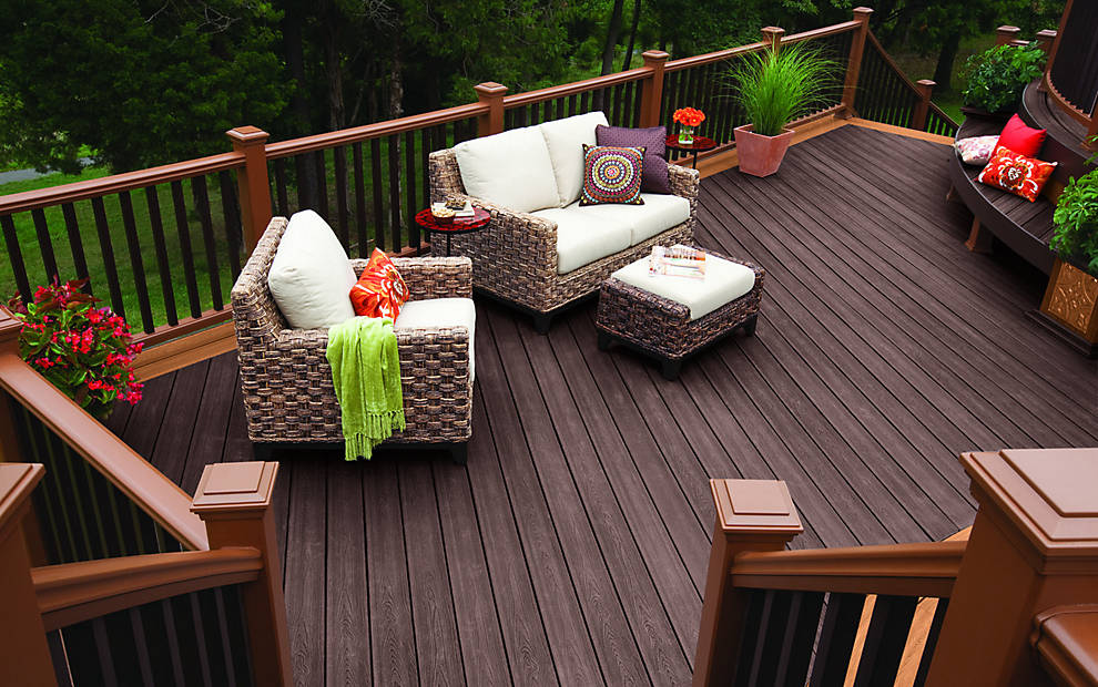 Trex Transcend Recycled Plastic Lumber Decking Materials