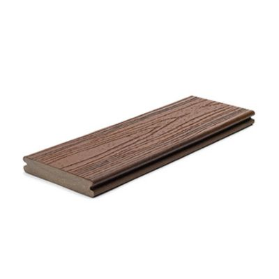Trex Composite green decking 1 inch grooved edge