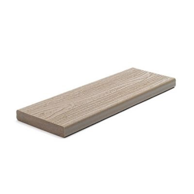 Trex composite green decking 1 inch square edge